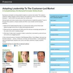 Adapting Leadership To The Customer-Led Market