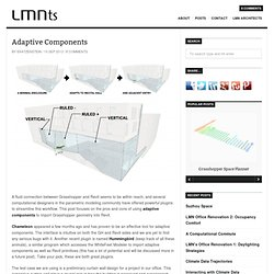 Adaptive Components, GH to Revit