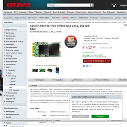 ADATA Premier Pro SP900 M.2 2242, 256 GB SSD ASP900NS34-256GM-C, MLC, TRIM