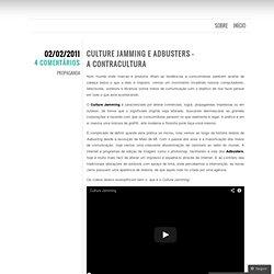 Culture Jamming e Adbusters – A Contracultura