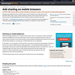 Add charting on mobile browsers