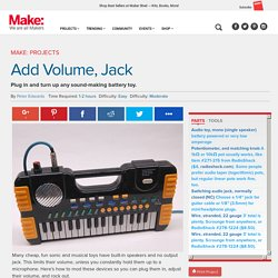 Add Volume, Jack