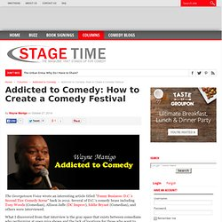 Addicted to Comedy: How to Create a Comedy Festival