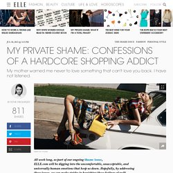 Addicted to Shopping - Personal Essay on Shopping Addiction