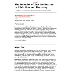 Addiction and Zen