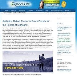Maryland Addiction Rehab Centers