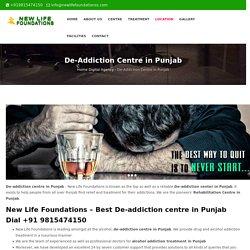 De-Addiction Centre in Punjab