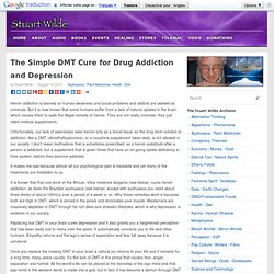 The Simple DMT Cure for Drug Addiction and Depression