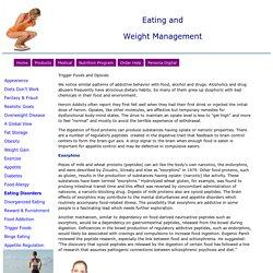 Food, Addiction, Eating Disorders;