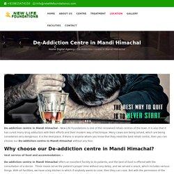 De-addiction centre in Mandi Himachal