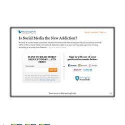 Is Social Media the New Addiction?