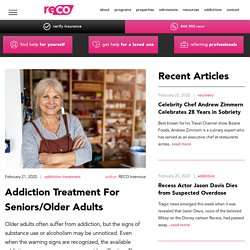 Addiction Treatment For Seniors/Older Adults