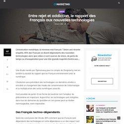 Entre rejet et addiction, le rapport des Français aux nouvelles technologies