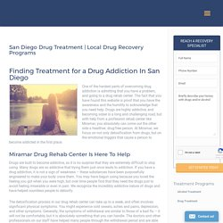 drug rehab center in San Diego