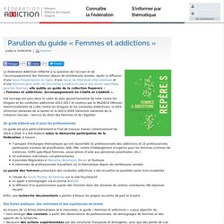 "Guide ""Femmes et addictions"" - Fédération Addiction, 2017"