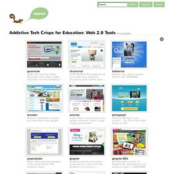 Addictive Tech Crisps for Education: Web 2.0 Tools