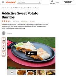 Addictive Sweet Potato Burritos Recipe