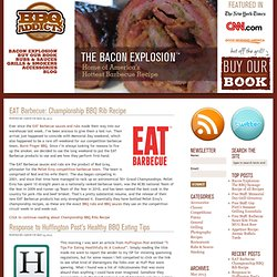 BBQ Addicts - BBQ Blog - -- Smoke It, Grill It, Roast It, Eat It --