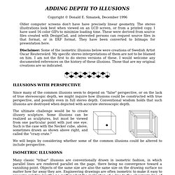 Adding Depth To Illusions