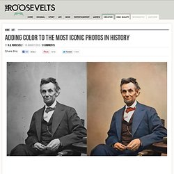 Adding Color To The Most Iconic Photos In History