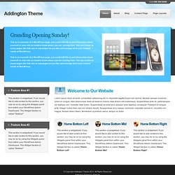Addington Theme