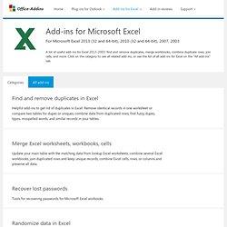 Add-ins Excel (Office-addins.com)