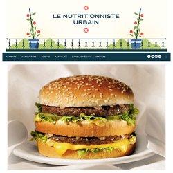 Les 6 additifs de McDonald's qui vont vous tuer (not) - Le nutritionniste urbain