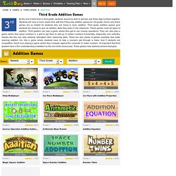Addition Games for 3rd Grade