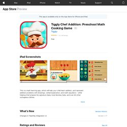 Tiggly Chef Addition: Preschool Math Cooking Game on the AppStore