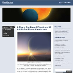 A Newly Confirmed Planet and 42 Additional Planet Candidates « Planet Hunters
