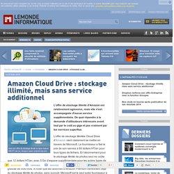 Vers un stockage ilimité avec l'offre Cloud Drive d'Amazon