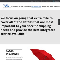 Air Cargo Service With Insurance Coverage