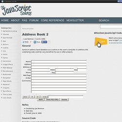 Address Book 2