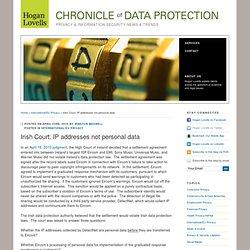 Irish Court: IP addresses not personal data