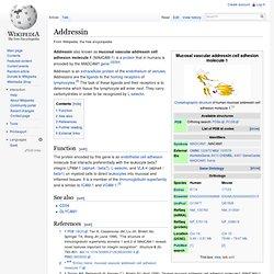 Addressin - Wiki