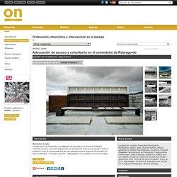 Proyectos: Adecuación de acceso y columbario en el cementerio de Robregordo