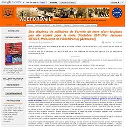 Association de Défense des Droits des Militaires