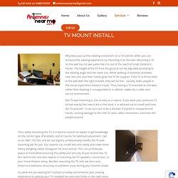 TV Mount Install Adelaide