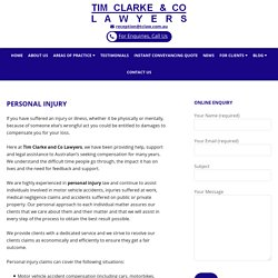 Adelaide Personal Injury Claims