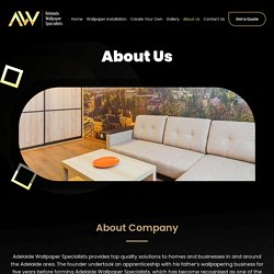 About Us – Adelaide Wallpaper Specialists