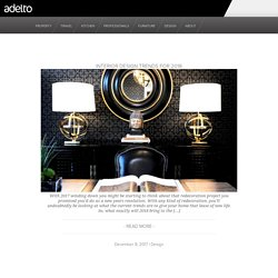Adelto | Luxury Furniture, Property, Travel & Interior Design