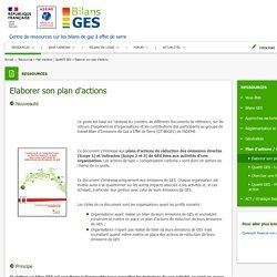 - Site Bilans GES