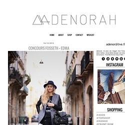 adenorah- Blog mode Paris