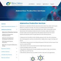 Adenovirus Production Services - Biogene Qvirus Platform