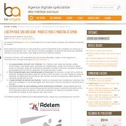L'Adetem publie son livre blanc : Manifeste pour le marketing de demain
