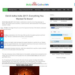 Eid-Ul-Adha India 2017: Everything You Wanted To Know!