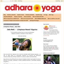 adhara yoga: Limpieza Nasal, Jala Neti -Lota-