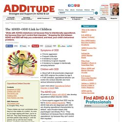 ADHD and ODD: The Behavioral Link in Children