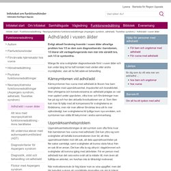 Adhd/add i vuxen ålder - www.regionuppsala.se