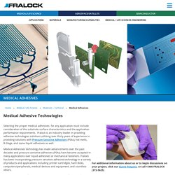 Medical Adhesive Technologies